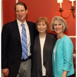 Sen. Wyden, Dr. Benneth Husted and Terri Hobbs