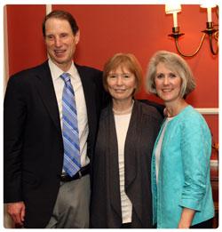 Sen. Wyden, Dr. Benneth Husted and Terri Hobbs