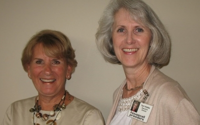Team lead for IAH Linda Colantino visits HCP