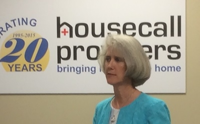 Press conference puts Housecall Providers in the spotlight of IAH Results