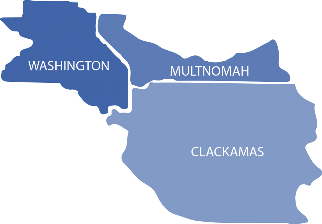Housecall Providers serves all of the Portland Metro area on