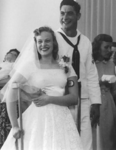Mickey and Willie were married 57 years ago.