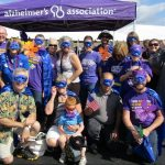 Superheroes support the Walk to End Alzheimer's
